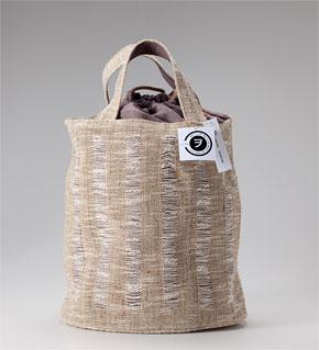 幾島利美 からむし鞄 - 品名  画像を拡大 幾島利美 からむし鞄 - #09 ◆価格: 41,